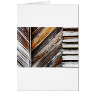 Wood Pattern Card