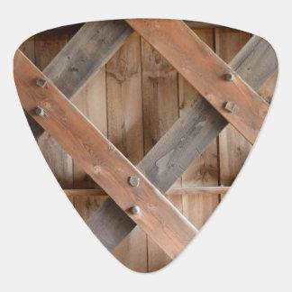 Wood Pattern Guitar Pick