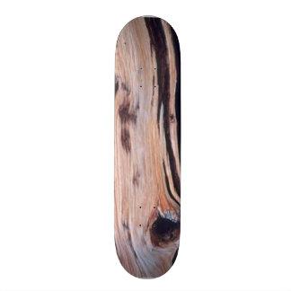 Wood pattern Skateboard