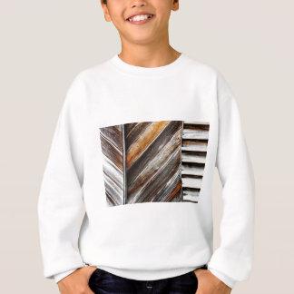 Wood Pattern Sweatshirt