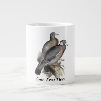 Wood Pigeon Large Coffee Mug