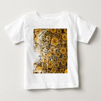 Wood Pile Grunge Baby T-Shirt