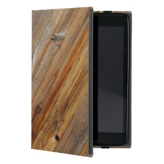 Wood Plank Diagonal Case For iPad Mini