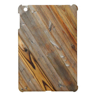 Wood Plank Diagonal iPad Mini Cover