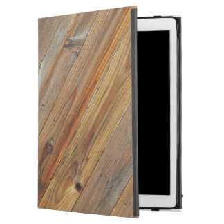 "Wood Plank Diagonal iPad Pro 12.9"" Case"