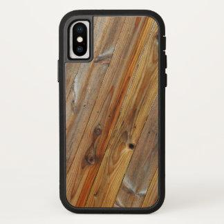 Wood Plank Diagonal iPhone X Case