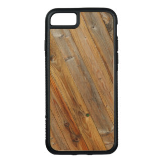 Wood Plank Diagonal On Carved iPhone 8/7 Case