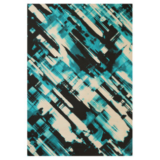 Wood Poster Blue Black abstract digitalart G253