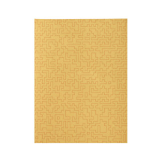 Wood poster with Gold abstract Art