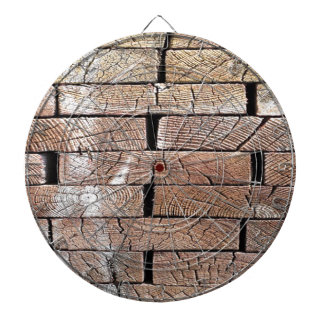 wood, retro, trees dartboard