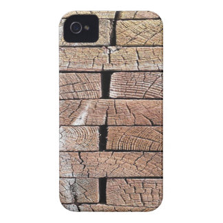 wood, retro, trees iPhone 4 case