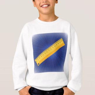 wood ruler sweatshirt