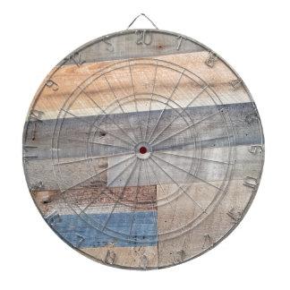 Wood rustic dartboard