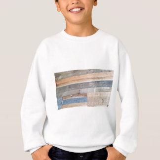 Wood rustic sweatshirt