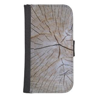 wood samsung s4 wallet case