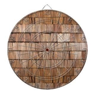 Wood Shingle Dartboard