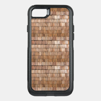 Wood Shingle OtterBox Commuter iPhone 8/7 Case