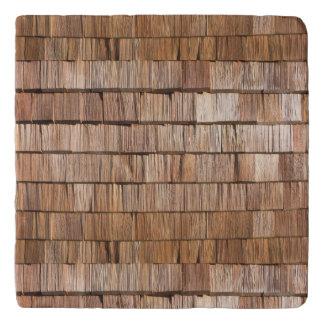 Wood Shingle Trivet