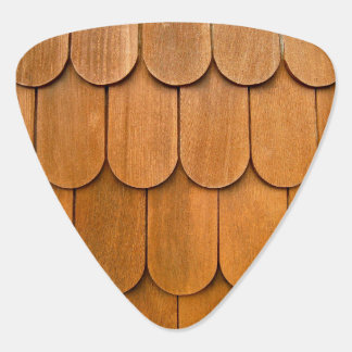 Wood Shingles Guitar Pick
