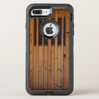 Wood Slats Beach Door Costa Brava Spain OtterBox Defender iPhone 7 Plus Case