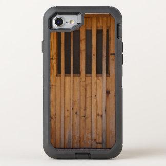 Wood Slats Beach Door Costa Brava Spain OtterBox Defender iPhone 8/7 Case