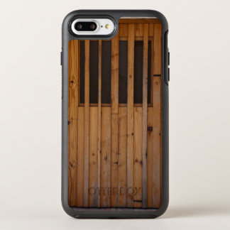 Wood Slats Beach Door Costa Brava Spain OtterBox Symmetry iPhone 7 Plus Case