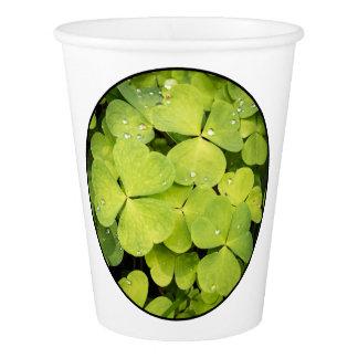 Wood sorrels paper cup