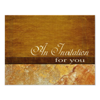 Wood Stone Business Executive Retirement 4.5x5.5 Card