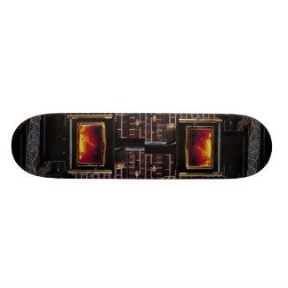 Wood stove skate board decks