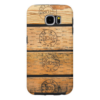 Wood Stripes Made in USA Samsung Galaxy S6 Cases