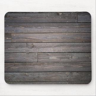 wood style mousepad