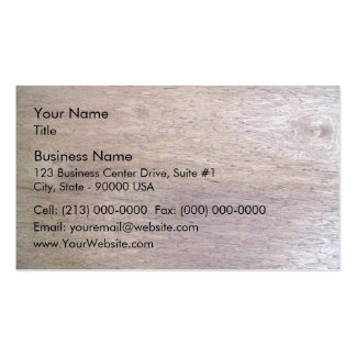 Wood Surfaced Texture Pack Of Standard Business Cards