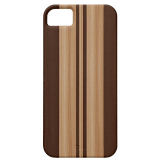 Wood Surfboard  iPhone 5 Case - Faux Wood Stripes