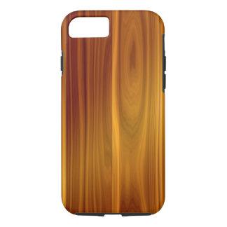 Wood Teak iPhone X/8/7 Tough Case