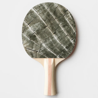 Wood Texture Cool Unique Ping Pong Paddle