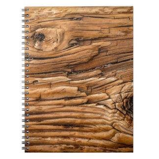 Wood Texture Notebooks