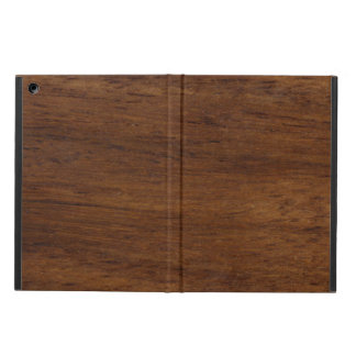 Wood Texture Rugged Construction Cover For iPad Air