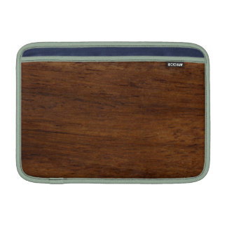 Wood Texture Rugged Construction MacBook Air Sleeve