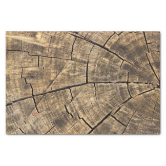 Wood Texture Tissue Paper