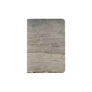 Wood Texture Unique Passport Holder