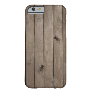 Wood Texture with Fly Barely There iPhone 6 Case