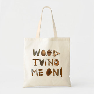 Wood Turns Me On Woodturning Tools and Projects Bag
