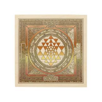 Wood Wall Art Yoga Spirituality Meditation Symbols Wood Prints