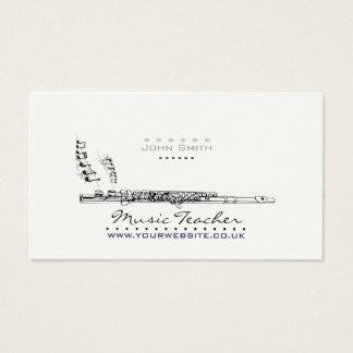 Wood-wind Musician/Music Teacher Business Card