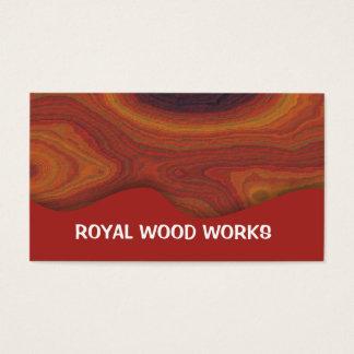 Wood Works Unique Business Cards