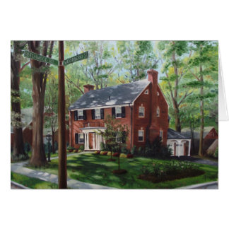 Woodberry Street (card) Card