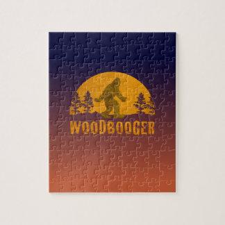 Woodbooger Vintage Sunset Jigsaw Puzzle
