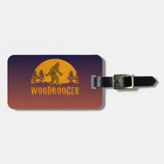 Woodbooger Vintage Sunset Luggage Tag