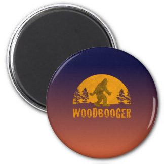 Woodbooger Vintage Sunset Magnet