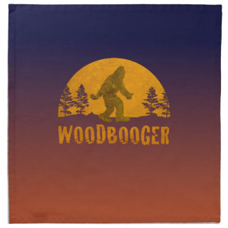 Woodbooger Vintage Sunset Napkin